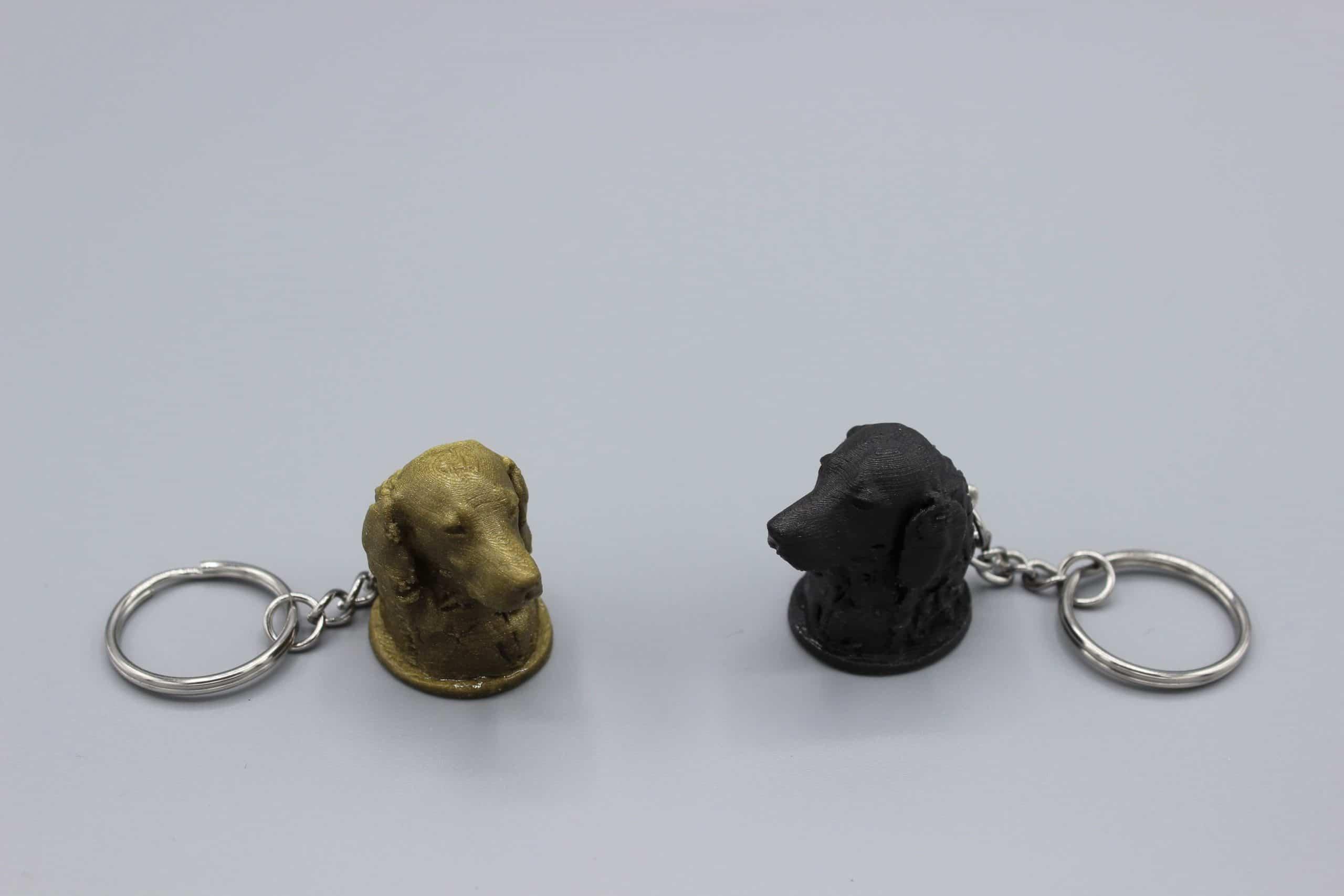 Porte-clés avec chien
