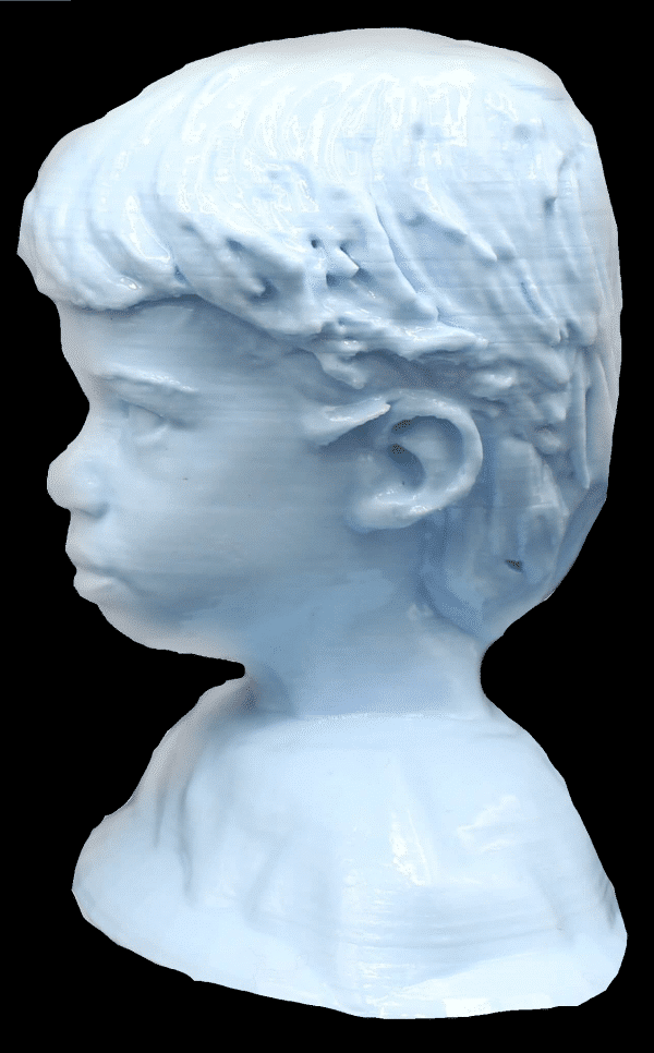 fete des mères : buste d'enfant