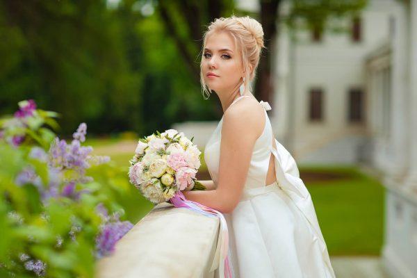 cadeau de mariage buste de mariée